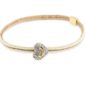 Juicy Couture 💖 Pave Heart Elastic Headband